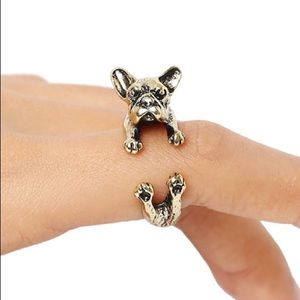 Jewelry - Gold Bulldog Ring